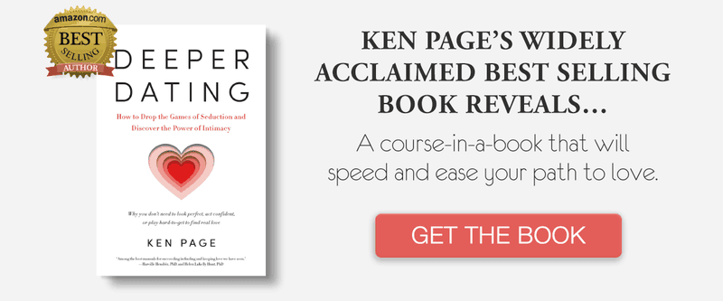 "Navigate sexual attraction with Ken Page's book called ""Deeper Dating"""