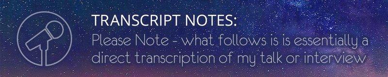 Transcript Notes
